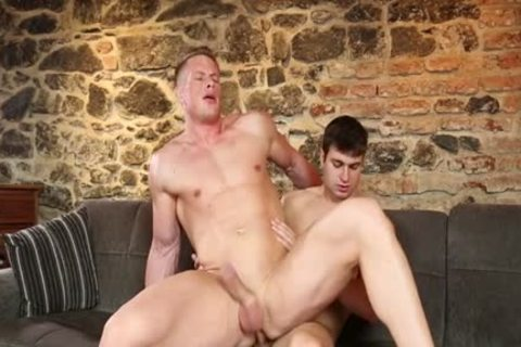 Euro homosexual butthole job And cumshot