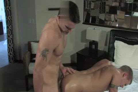large ramrod homosexual a bit of booty With cumshot