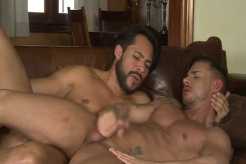 Latin Son oral sex And spunk flow