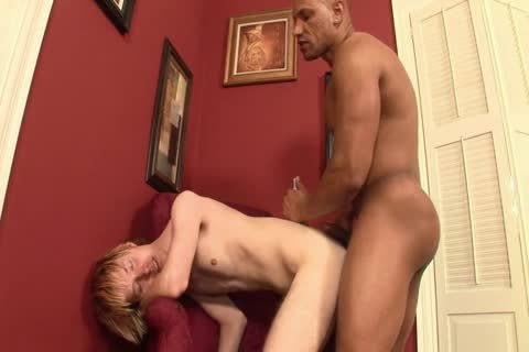 Blond twink hammered By BBC