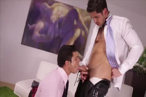 Two filthy Hunks In Suits raw