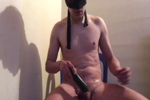 twink Having A Great Prostate gigantic O With fake penis