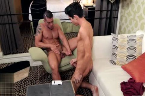 gigantic 10-Pounder gay oral stimulation With cumshot
