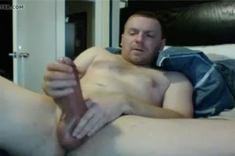 Hung daddy Strokes And Cums
