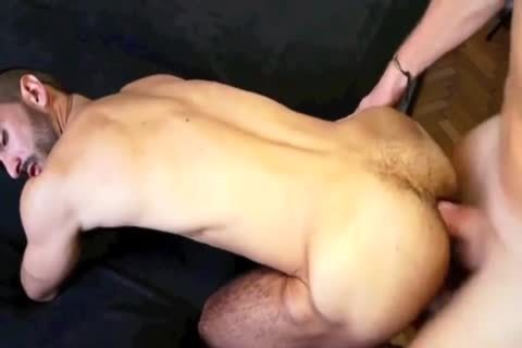 big knob Daddy & bushy ass Fucker