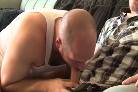 big penis homosexual trio With Facial