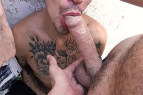 lusty Straight guy Sucks And hammers Around The town In Public For cash
