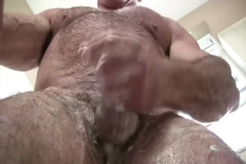 kinky Muscle Daddy Mikey Shower jack off & sperm