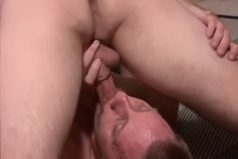 Pile Drive The str8 guy's bare anal aperture