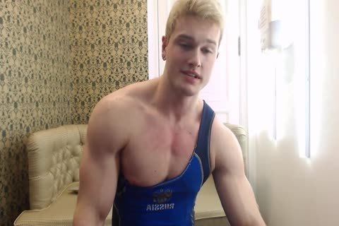 lovely young Russian Muscle Hunk