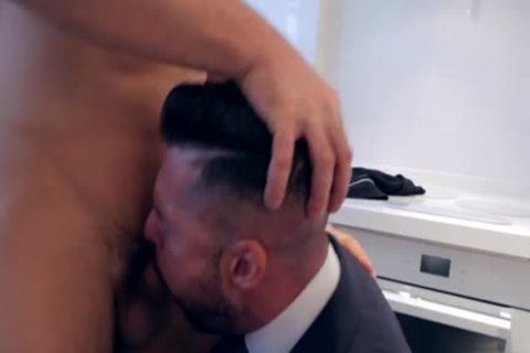 Muscle homosexual butthole sex And cumshot