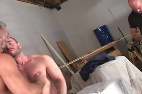 gigantic muscle bears suck penis and plow a-aperture
