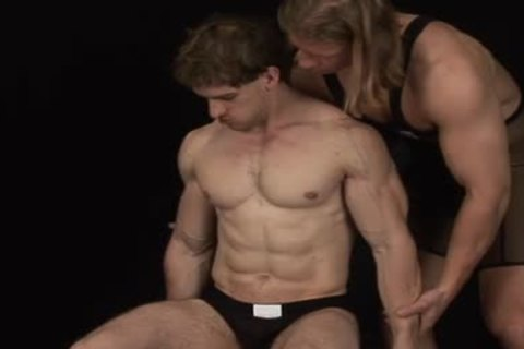Lustful bodybuilders homo fuck