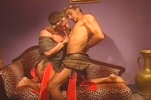 Two kinky males Show passionate Love