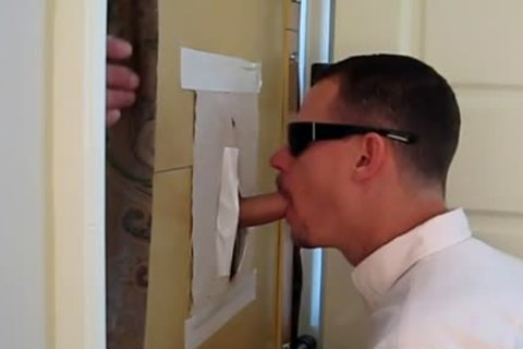 "Latino, 5'11"", 33 y/o 7"" Uncut, receives unfathomable GloryHole bj"