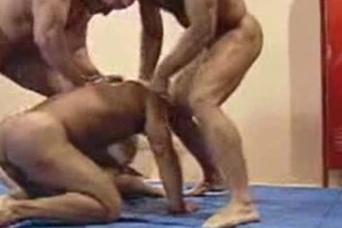 Wrestlers orgy  complete video