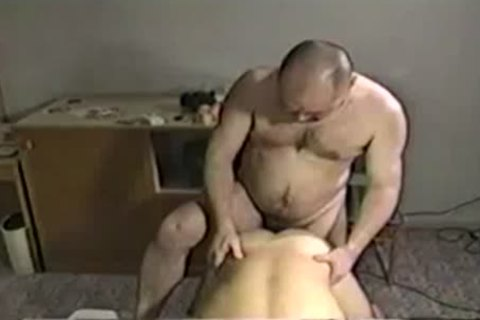 Bushy european receives his pooper handled with cock