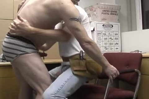 enjoyable redneck office homo pair plowing