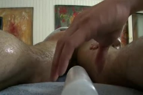 curly chap gets Incredible homo Massage