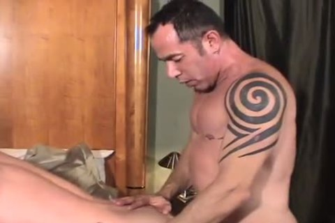 Hung daddy nude bonks hung lad