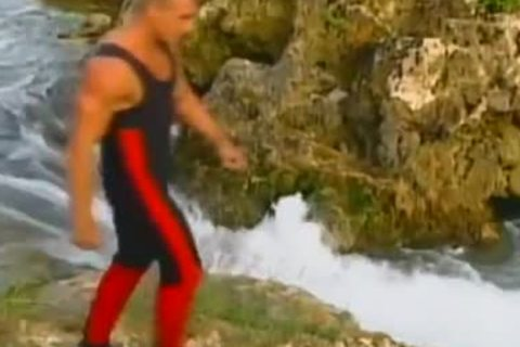 Blazing Waters wild Outdoor Adventure With large schlong excited Hunks