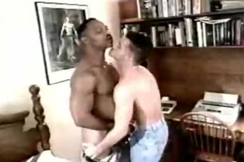 Wicked interracial homo males nailing