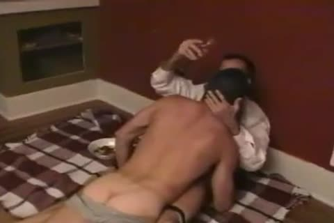 homo paramours In A Blindfold Barebacking Scene