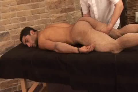 massagem nas costas, excitado, peludo, sêmen, barba