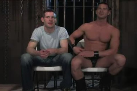 Homosexual domination butthole nailing sex