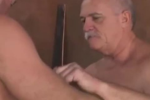 daddy men In A 3some