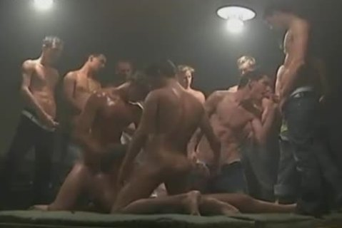 homo group-sex Party