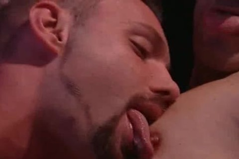 fine homosexual males Licking Their Tongues And engulfing penises