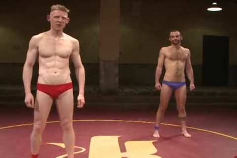 homosexual guys Wrestling And nailing After Match