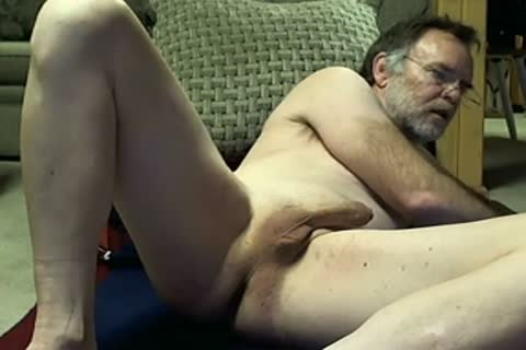 College Professor dad Fingers His anal On web camera