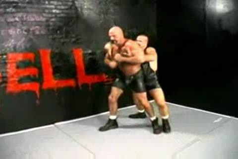 Thicandbig two large dicks wrestle