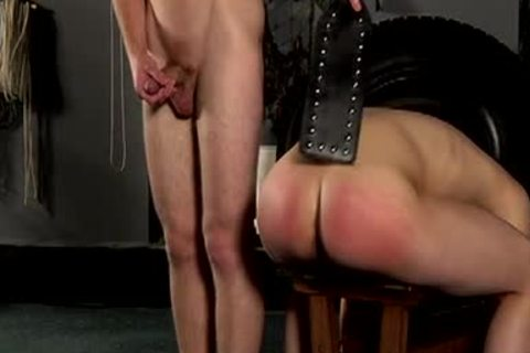 Requested fastened Down For Whipping And group-sex