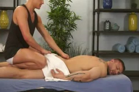 Massage And group-sex