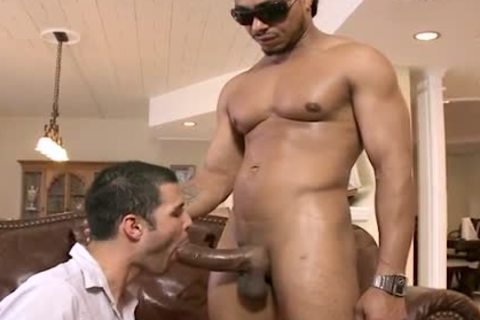 black HUNK TEARS WHITE chap A recent arsehole WITH HIS biggest PACKAGE