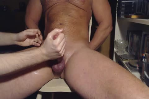 Me Milking Teasing Hung Veiny Alpha dude - Post ball batter Rubbing