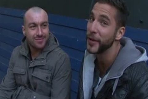 European gay pair Pump's That wazoo On cam