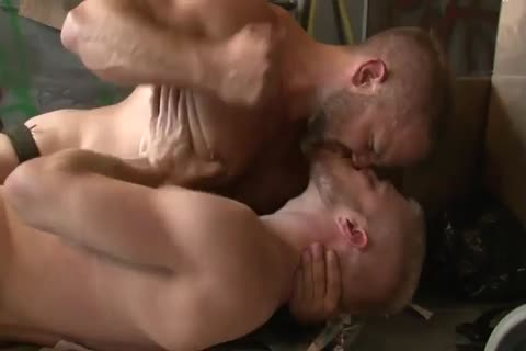 Dirk Caber bonks With A blond twink In A Wareshouse