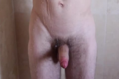 big & gigantic Shower acquires Steamy For gigantic Dicked men