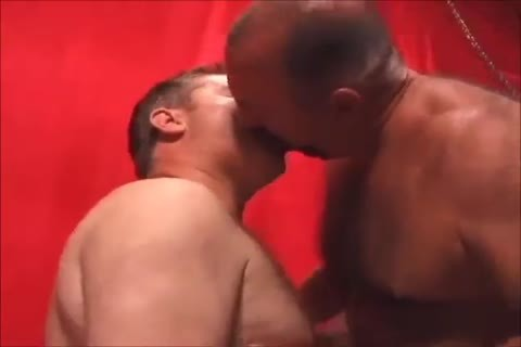 Two tasty Daddies slamming