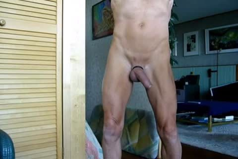 Stripping, Swinging My wang, Jerking-off And Cummin In The End