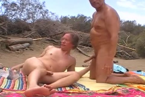 When The Sun Burns Down In The Dunes Of Maspalomas, We Usually acquire naughty, No Matter If Anyone Is Around Or Passing By. I Love To Feel My Husbands cock In My Hungry pooper When he Breeds Me. So I cant assist But Shooting My Load When His large d