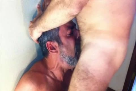 One Of The superlatively admirable penis-suckers From Brasil In A painfully Facefucking Action.