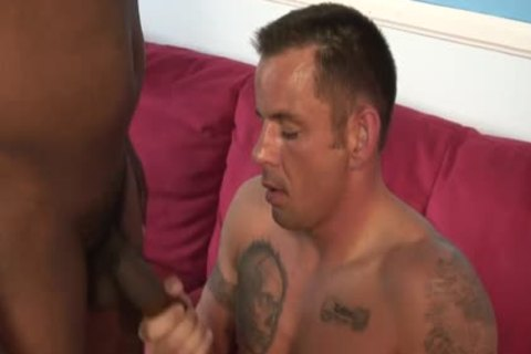 Two pumped up guys have a joy Giving Each Other A cook jerking