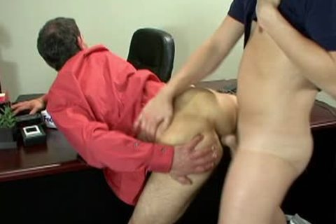 yummy Office homosexual guys plowing Hard At Work