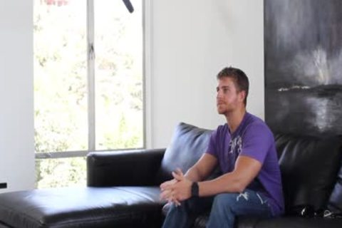 HD GayCastings - pumped up Texas lad poked On Casting sofa