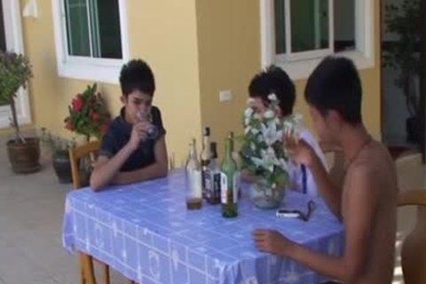 oriental legal age teenagers (18+) Facialize three
